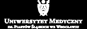 achromatyczne logo Uniwersytetu Medycznego we Wrocławiu