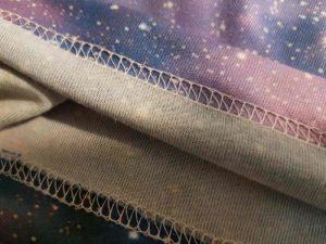 Szycia koszulek z pełnym zadrukiem