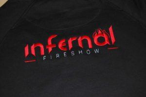 Haft dla firmy Infernal fireshow