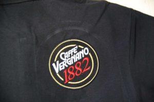 Caffe Vergnano 1882 - haft kolorowy