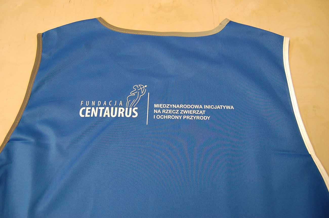 Folia flex dla fundacji Centaurus